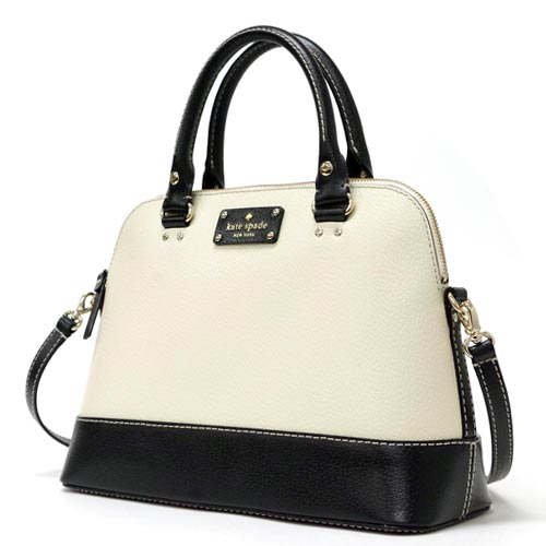 Kate Spade Outlet Black And White Purse Best Image Ccdbb
