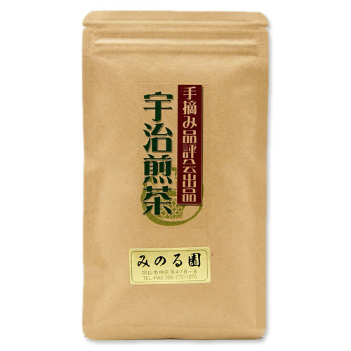 香り 甘み 出荷 渋み 清涼感が極上のバランスの宇治の最高級の煎茶 手摘み品評会出品 卸売り 100g入り お茶 緑茶 宇治煎茶 日本茶