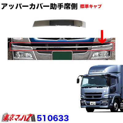 アッパーカバーL 助手席側【標準キャブ車】07スーパーグレート バンパー用