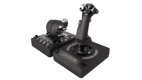 ☆【即納可能】【新品】【PC】ロジクール X56 HOTAS RGB 対応 スロットル & スティック式シミュレーションコントローラ【あす楽対応】【送料無料】【smtb-u】G-X56R Logicool