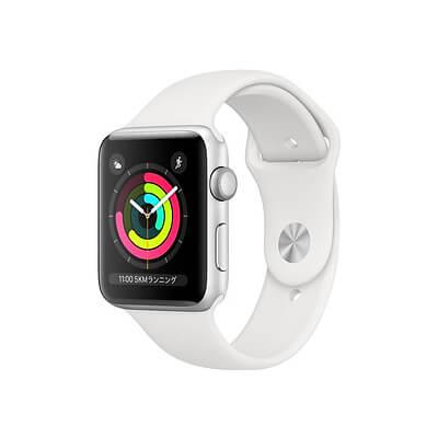特典付【即納可能】 Apple Watch S3 GPS 42mm【スペースグレイ / シルバー】【中古】【美品Aランク】【動作確認済】【あす楽対応】【送料無料】【smtb-u】アップル スマートウォッチ