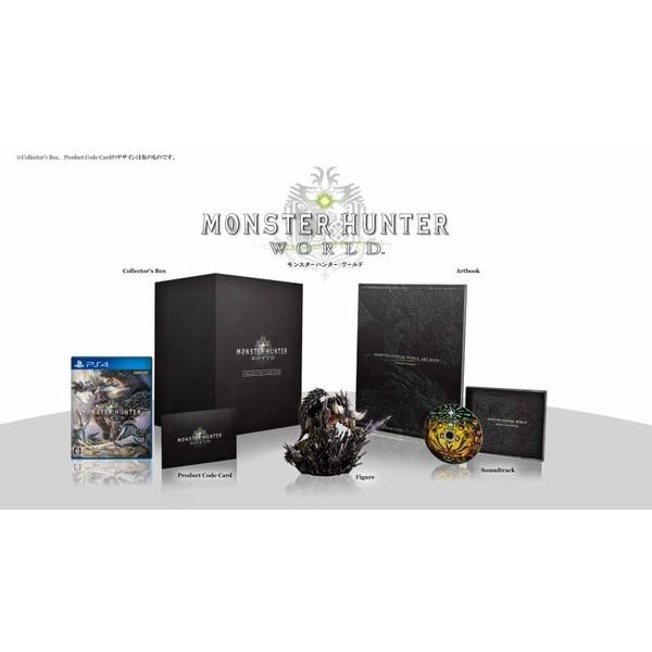 【新品】【PS4】【限】MONSTER HUNTER: WORLD COLLECTOR'S EDITION(モンスターハンターワールドコレクターズエディション)[お取寄せ品]