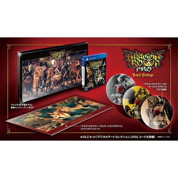 【新品】【PS4】【限】ドラゴンズクラウン・プロ ロイヤルパッケージ[お取寄せ品]