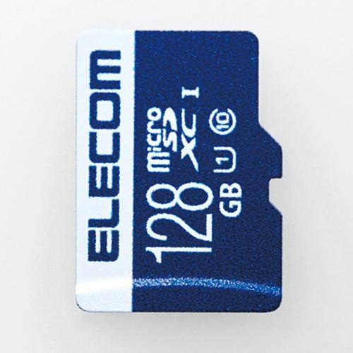 [100円便OK]【新品】[ELECOM(エレコム)] 【MEDIA】MicroSDXCカード/データ復旧サービス付/UHS-I U1 45MB/s 128GB MF-MS128GU11R[お取寄せ品]