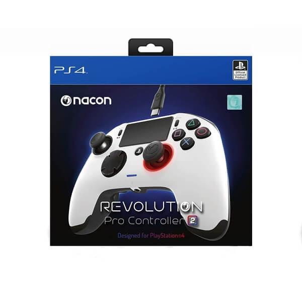 【新品】【PS4HD】レボリューション プロ コントローラー2 ホワイト[お取寄せ品]