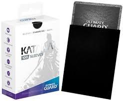 【新品】【TTAC】Ultimate Guard Katana スリーブ 標準サイズ ブラック[お取寄せ品]