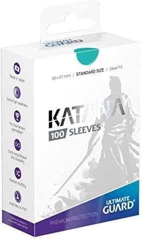 【新品】【TTAC】Ultimate Guard Katana スリーブ 標準サイズ ターコイズ[お取寄せ品]