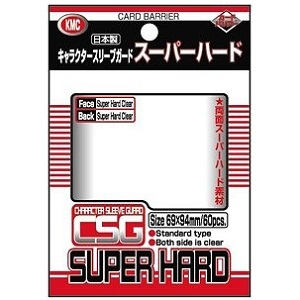 [メール便OK]【新品】【TTAC】カードバリアー キャラクタースリーブガード スーパーハード (KMC)[お取寄せ品]
