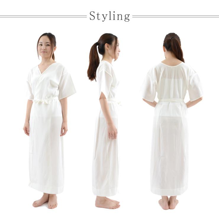 W effects of hyper guard & カシピア processing! All seasons OK! Washable in the washing machine! Ultimate ' kimono, pure silk lingerie ( silk slip ) ' size is also fine kimono dress expression Albert Museum (S M L, MT / MO-LO), kimono, yukata, Quinceaner