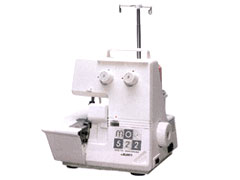 【ミシン】【送料無料】【5年保証】 JUKI (ジューキ) 1本針2本糸 オーバー ロックミシン MO-522 (MO522) 白糸セットして発送!【smtb-MS】