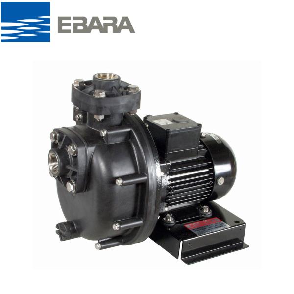 エバラ 40PQM6.4 プラスチック製自吸ポンプ 200V 0.4kW 60Hz