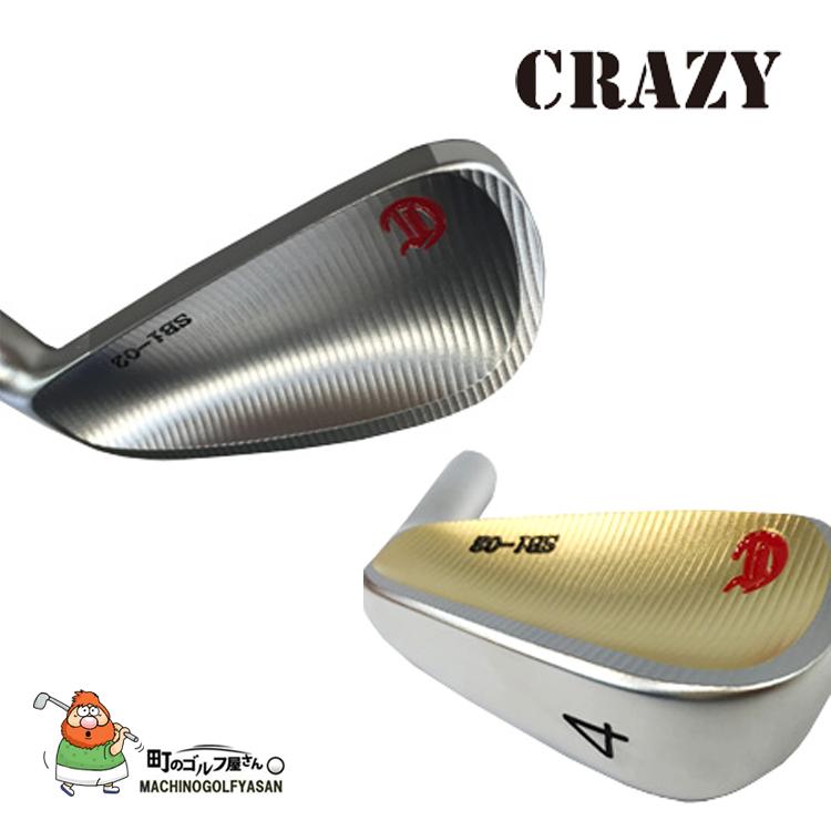 CRAZY crazy CRAZY SBi-02 IRON Gold Color single irons (# 3, # 4) head