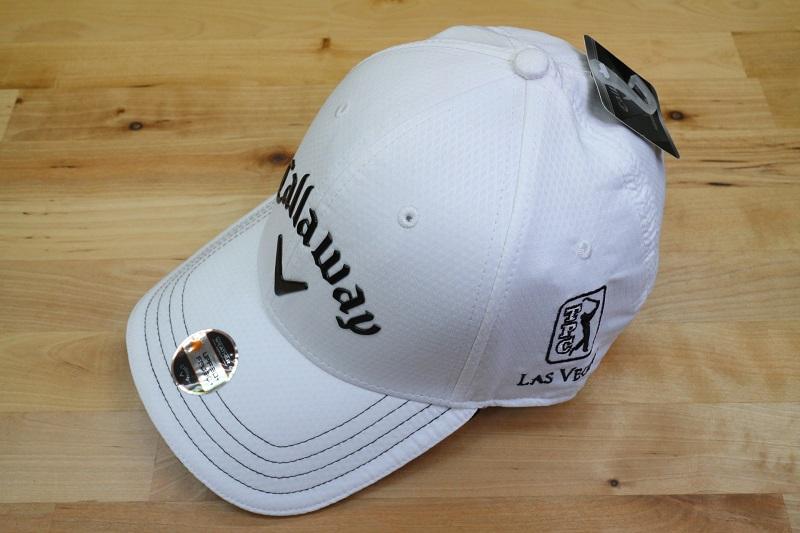 TPC 拉斯維加斯官方 logo & 卡拉威奧德賽帽高爾夫帽超罕見酷黑色白色黑色白色帽子