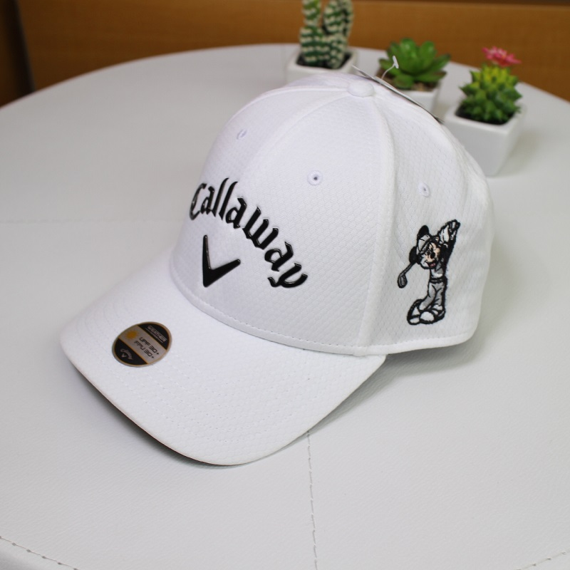 迪士尼x kyaroueikyappumikkimausu白帽子白礼物礼品Disney's Magnolia Golf Course Original GOLF CAP数量限定开始销售