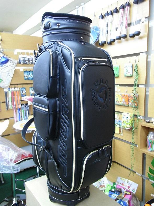 三浦技研球童袋 2016 年的有限高爾夫 9.0 英寸 46 英寸 PVC 合成革品質真正的學校 MCB16 運動型白色,黑色和紅色三浦技研高爾夫球袋 2016年有限模型