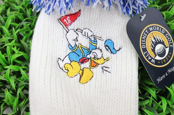 迪斯尼 Pom 针织 FW 顶盖米奇米妮唐纳德驱动程序为头部覆盖物礼物礼物迪斯尼玉兰高尔夫球有限很可爱