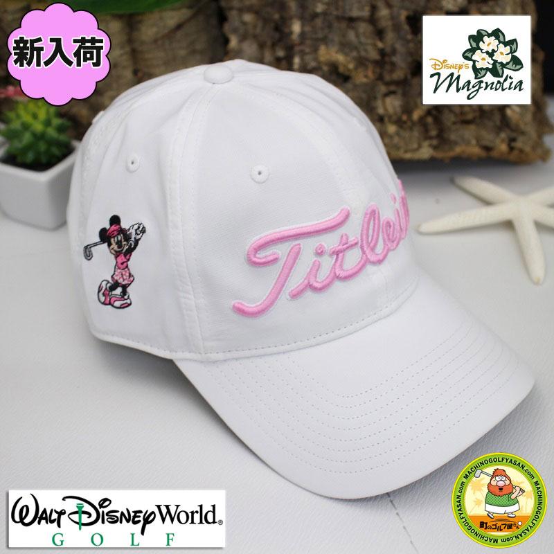 MACHINOGOLFYASAN  Entering Walt Disney world magnolia golf course Titleist  Disney golf cap Minnie Mouse embroidery Lady s  9d9adb89919f