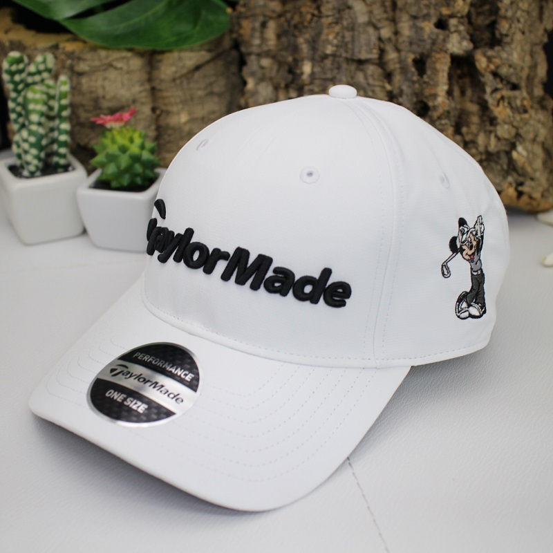 Entering Walt Disney world magnolia golf course tailor maid Disney golf cap  Mickey Mouse embroidery adjustable size c78f2c40c5b