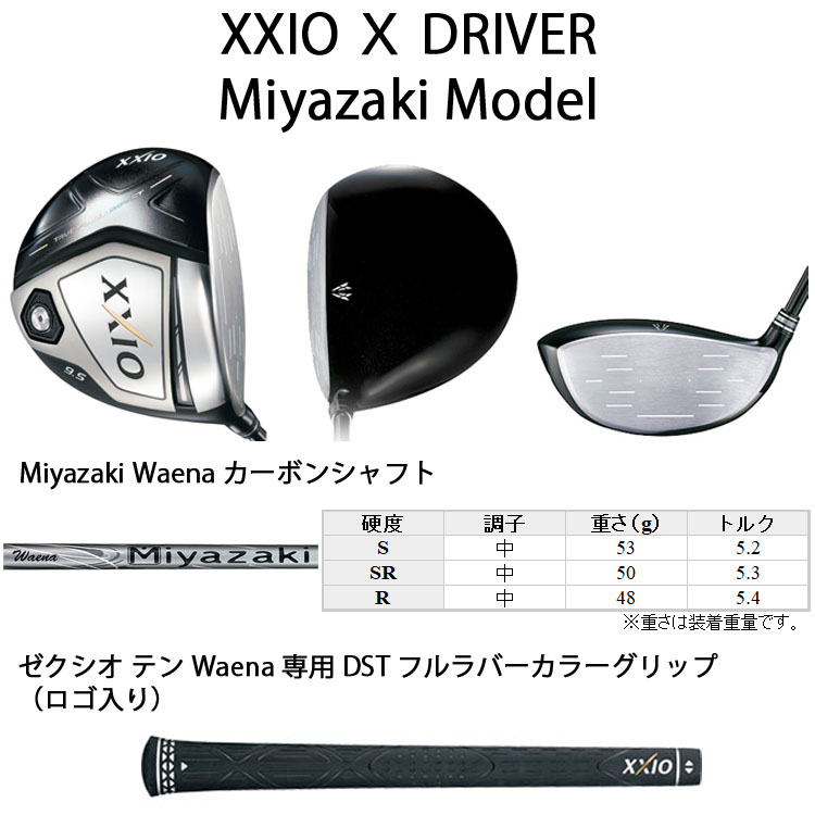 2018 dunlop xxio 10 miyazaki model driver. Black Bedroom Furniture Sets. Home Design Ideas