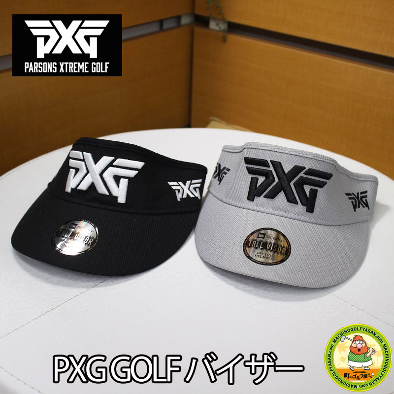 MACHINOGOLFYASAN  A U.S. tour purveyance for the government brand! Domestic  non-release! PARSONS XTREME GOLF PXG golf visor black gray adjustable size  NEW ... fc400dd196f