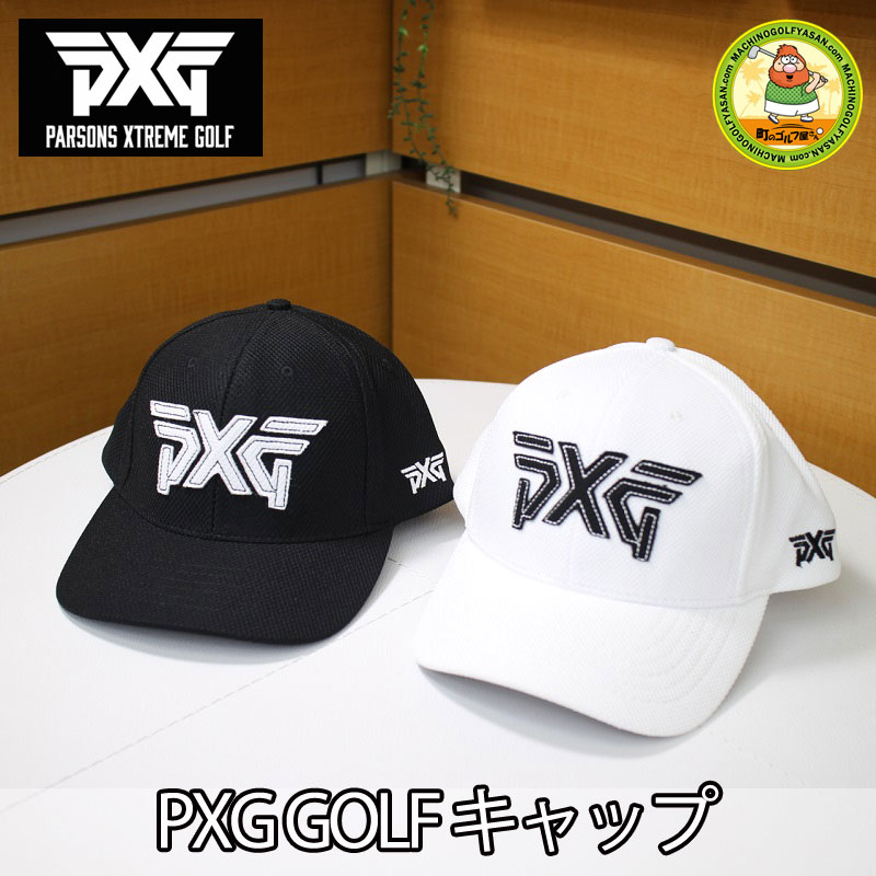 4f61a03a0c6 MACHINOGOLFYASAN  Domestic non-release! PARSONS XTREME GOLF golf cap  Parsons extreme golf adjustable size white black PXG
