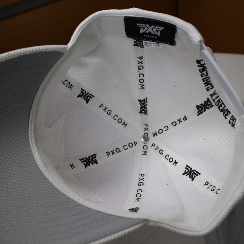 1b567bd2138 PARSONS XTREME GOLF golf cap Parsons extreme golf adjustable size white  black PXG