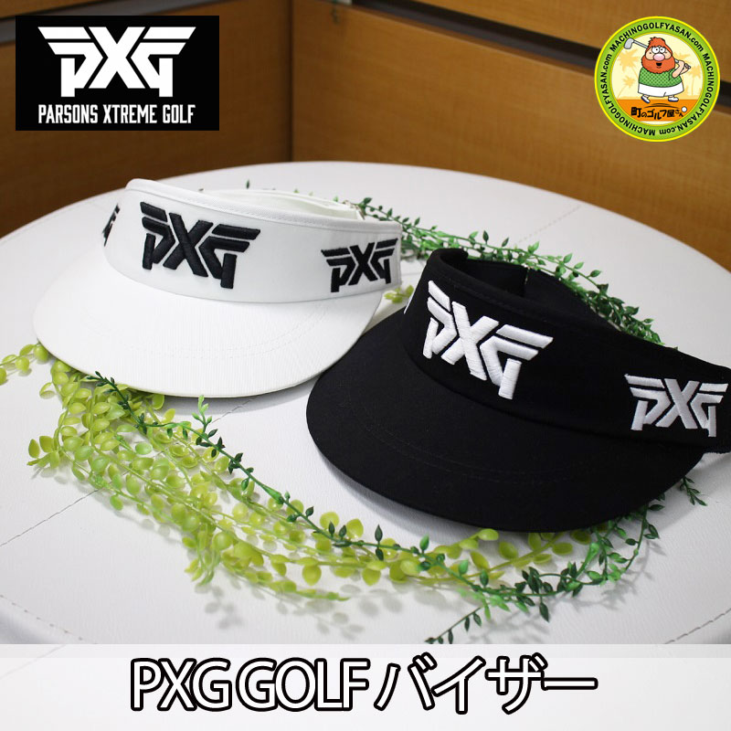 MACHINOGOLFYASAN  Domestic non-release! PARSONS XTREME GOLF golf visor  Parsons extreme golf adjustable size white black PXG  b16bf0909f2