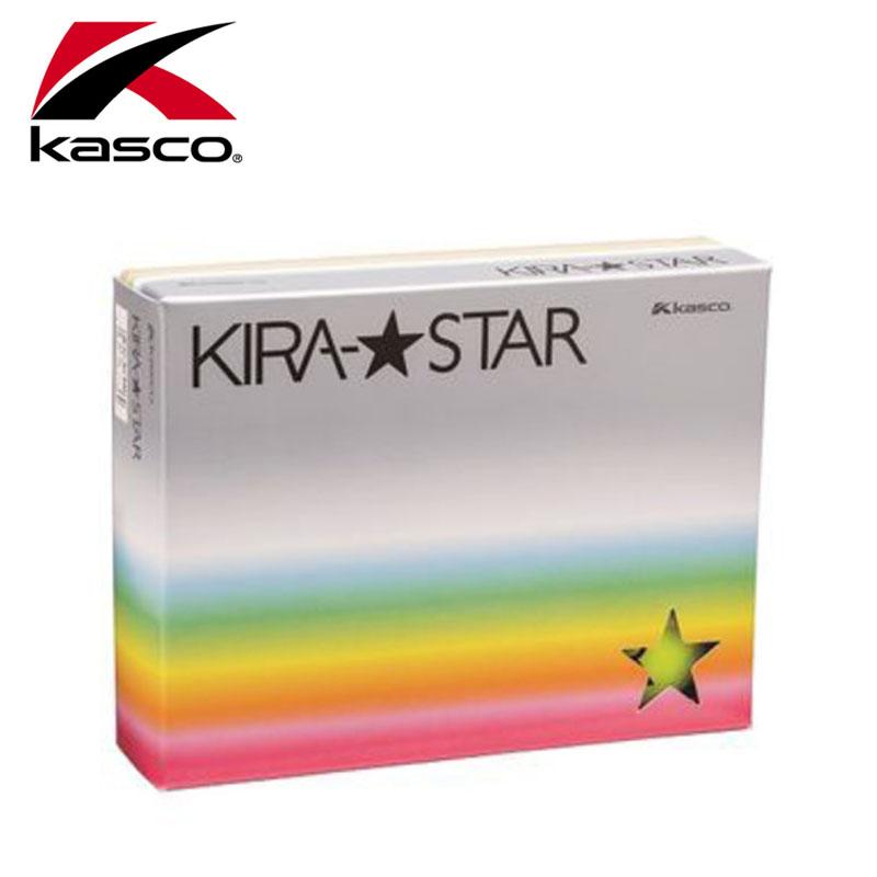 【2016年モデル】 キャスコ KIRA★STAR カラーゴルフボール 3ダースセット 公認球 Kasco Golf Ball【16】