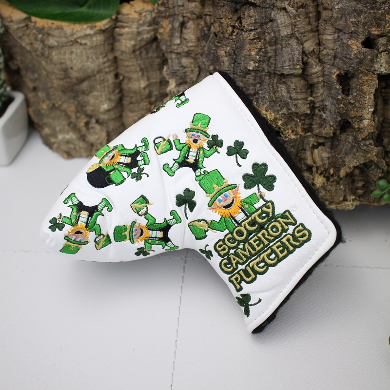 Scottie Cameron-limited design Happy St  PATRICK'S DAY putter cover scotty  cameron encinitas gallery