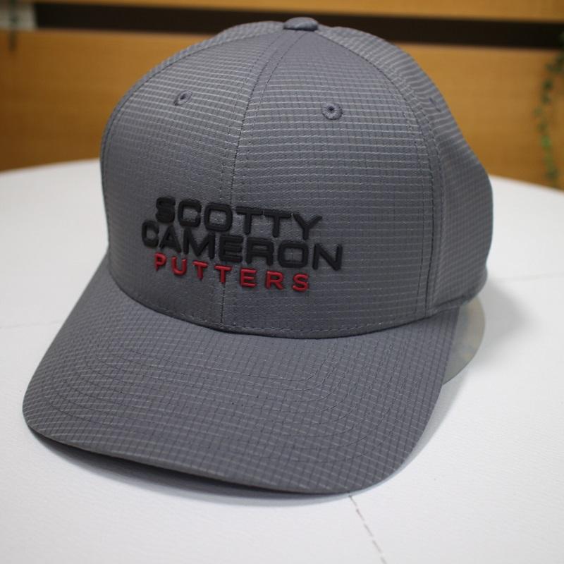 スコッティキャメロン SCOTTY CAMERON PUTTERS ロゴ入り ギャラリー限定デザイン ゴルフ キャップ グレー フリーサイズ scotty cameron 19ss