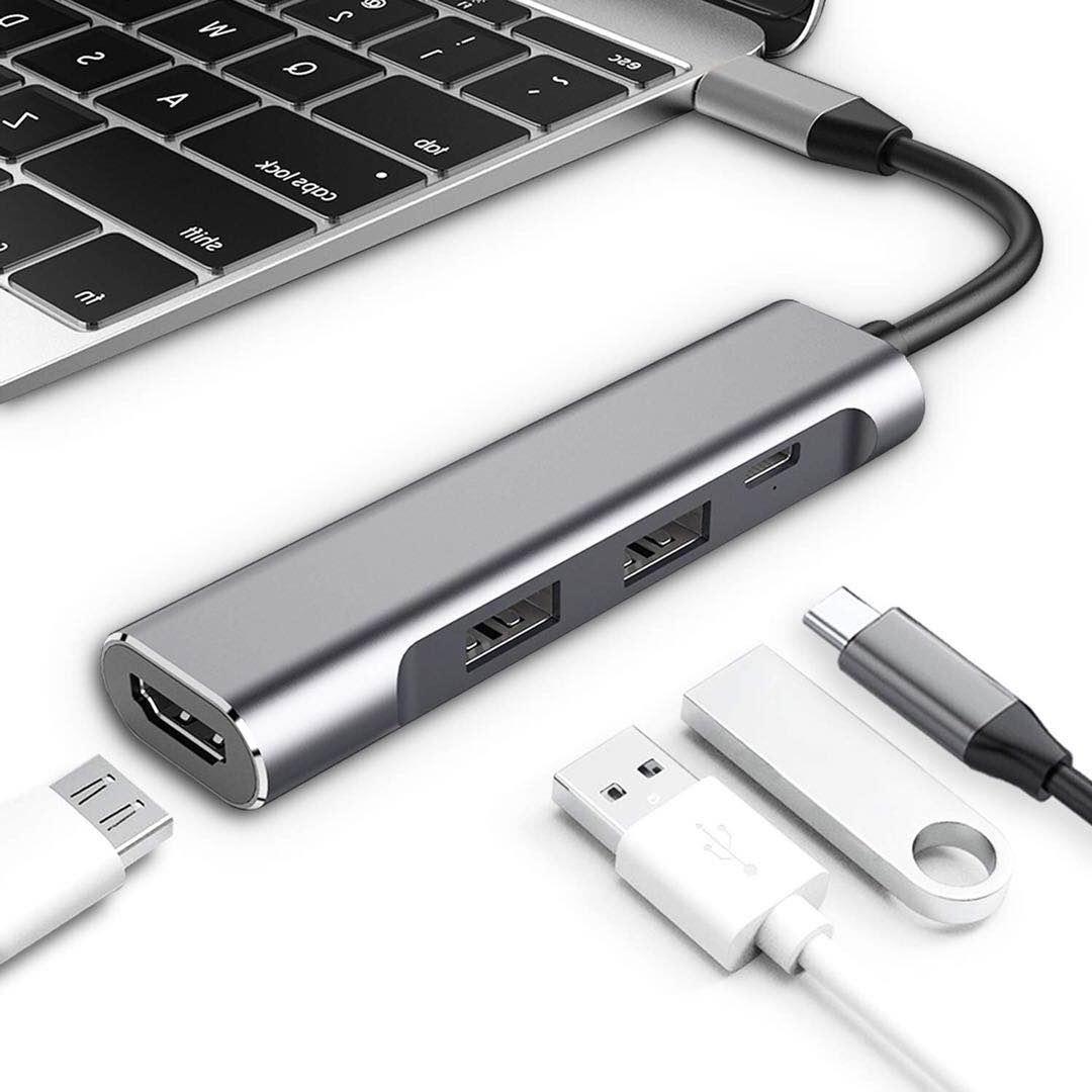 【楽天市場】USB Type-C ハブ HDMI 4K タイプC PD 充電器 USB3.0 マルチ変換 アダプタ