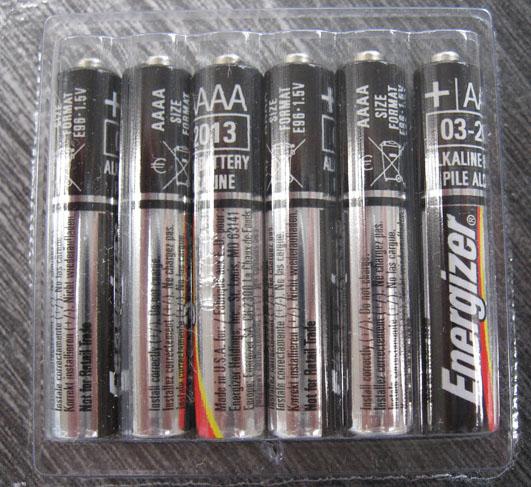 単六電池 6本セット AAAA E96 LR61 アルカリ乾電池 送料無料 Energizer エナジャイザー 【ストリームライト スタイラス ペリカン L4ライトに 単6電池 アルカリ電池 stylus streamlight】 単六電池 6本セット AAAA E96 LR61 アルカリ乾電池 送料無料 Energizer エナジャイザー 【ストリームライト スタイラス ペリカン L4ライトに 単6電池 アルカリ電池 stylus streamlight】