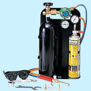 Asada アサダ 溶接器 ロキシー400L スタートキット 酸素充填サービス付