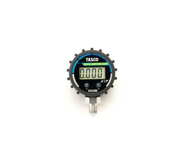 イチネンタスコ TASCO TA141DG 小型縦型式デジタル圧力計