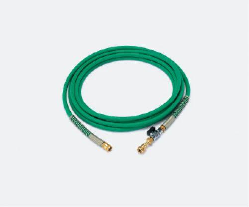 イチネンタスコ TASCO TA381KB-5 バルブ付耐圧ホース(1/4FメスX1/4Fメス)5m