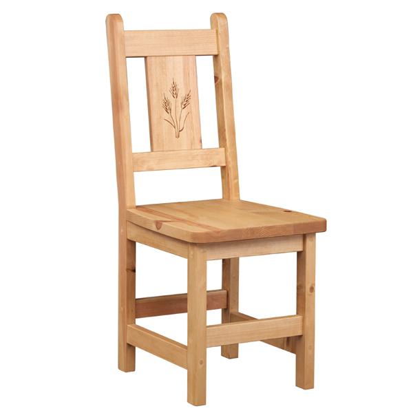 【日本製】 【カントリー家具/パイン家具】カントリーチェア 麦新築・リフォーム・引越し・入学・木製