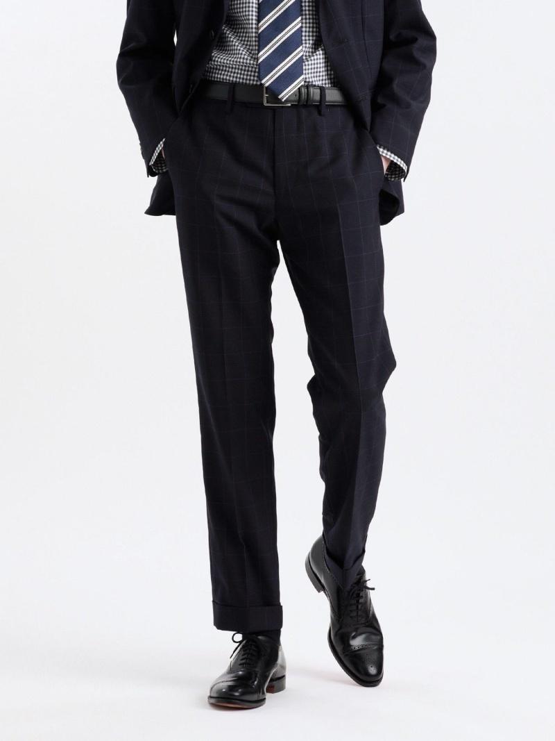 MACKINTOSH PHILOSOPHY メンズ パンツ ジーンズ マッキントッシュ フィロソフィー MEN SALE 33%OFF REDA 送料無料 Rakuten Fashion TROUSERS TAPERD グレー ドレスパンツ 2020 ACTIVEウィンドウペーン 推奨 スラックス ネイビー RBA_E