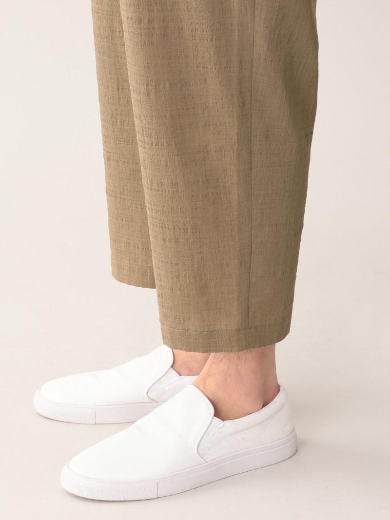 FashionSALE 50 OFF シンセティッククレープクロップドベイカーパンツ MACKINTOSH PHILOSOPHY MEN マッキントッシュ フィロソフィー パンツ ジーンズ パンツその他 ベージュ ネイビー ブラウン RBA E送料無料QECBoedxWr