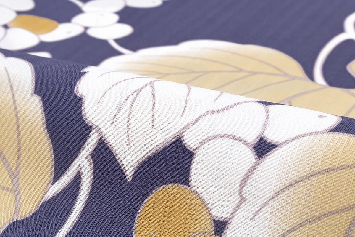 浴衣 3点セット 浴衣 兵児帯 下駄紫 薄橙 葡萄唐草 モダン 変わり織り 女性用 浴衣セット 30代 40代 ママ 大人浴衣 Sサイズフリーサイズ送料無料あす楽対応VqpSzUM