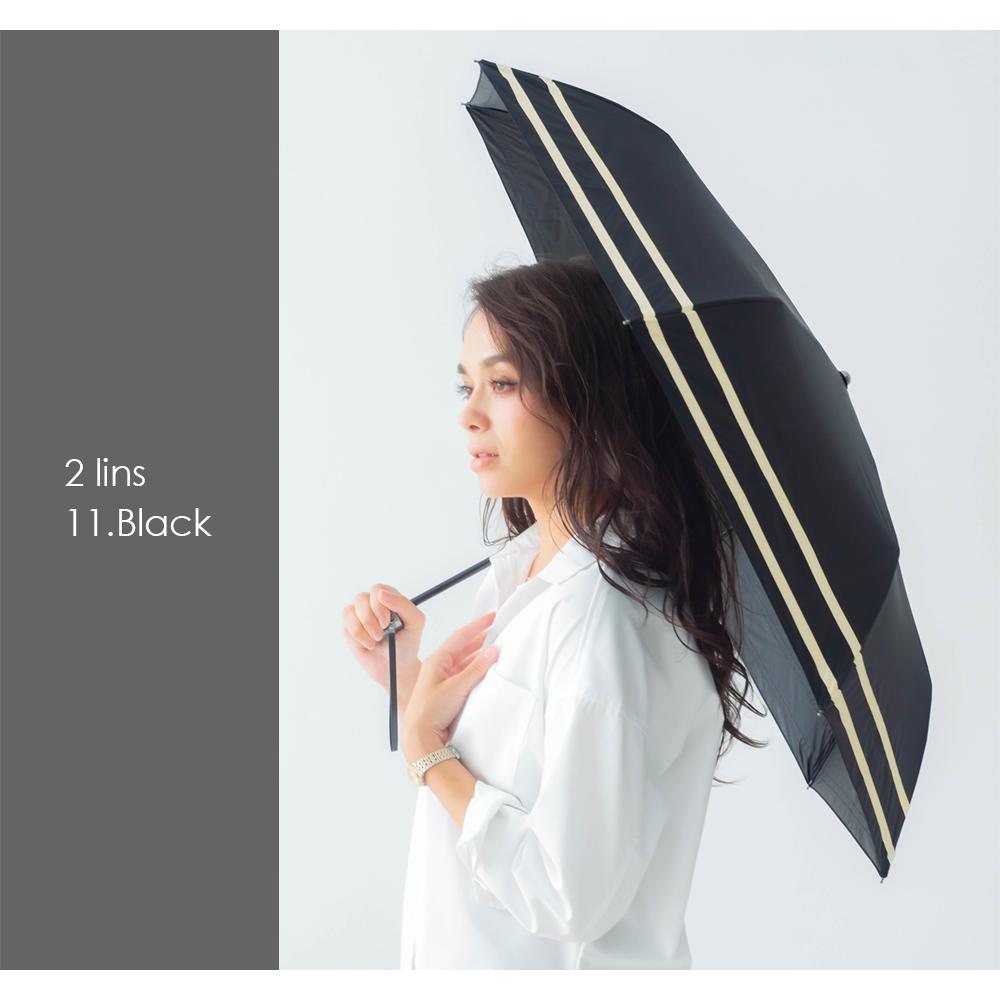 日傘 風にも強い 耐風傘 折りたたみ傘