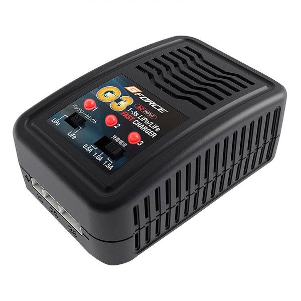 LiPo LiFe充電コレ1台でOK G-FORCE ジーフォース G3 Charger G0018 送料無料 クーポン ご注文後確認時に欠品の場合 メーカー直送 期日指定 返品不可 新作 大人気 人気急上昇 納品遅れやキャンセルが発生します 代引き 注文後のキャンセル 配布中 ギフト包装