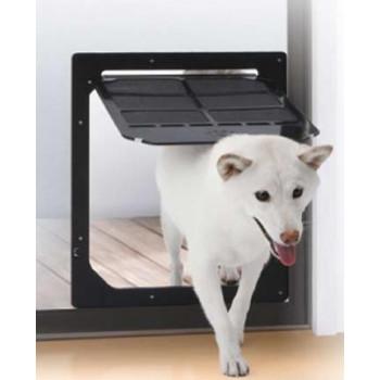 網戸専用 犬猫出入り口 Lサイズ(中型犬用) PD3742自由 庭 ペット【メーカー直送 期日指定不可 ギフト包装不可 返品不可  ご注文後在庫在庫時に欠品の場合、納品遅れやキャンセルが発生します。】