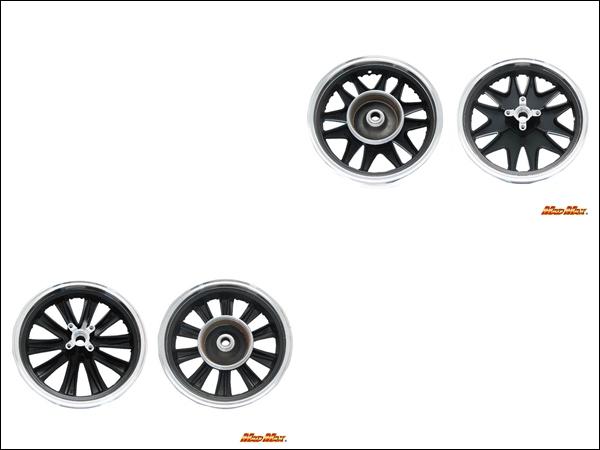 产品交付后。 PCX (JF28/JF56) /PCX150 (KF12/KF18) 13 英寸宽自定义轮设置每种颜色