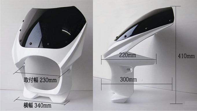 130 φ 일반 비키니 커버 (블랙/화이트/실버/레드/블루) 볼트 세트