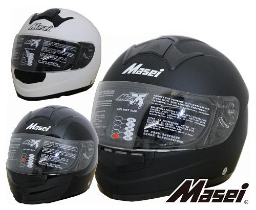 【送料無料!!】フルフェイス ヘルメット 858 Masei(マセイ)MA-858