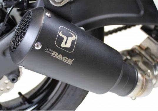 【送料無料!!】IXRACE KAWASAKI Z650(RACING) MK2B コニカルショート フルエキ マフラーIXIL、イクシル、マフラー、カワサキ、サイレンサー、バッフル、逆輸入
