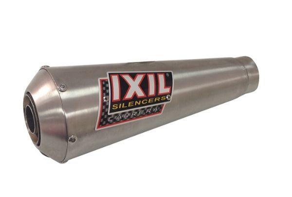 【送料無料!!】IXIL(イクシル) APRILIA BYQ 150T-SF/SR OVC11S メガホン フルEX マフラーアプリリア、マフラー、サイレンサー、バッフル、輸入車