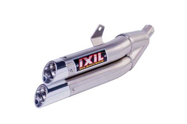 【送料無料!!】IXIL(イクシル) HONDA CBR500R/CB500F/CB500X '13-'15 L3X デュアル スリップオン マフラーマフラー、ホンダ、サイレンサー、バッフル、逆輸入