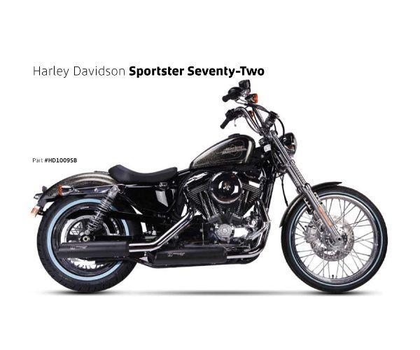 【送料無料!!】IRONHEAD(アイアンヘッド) HARLEY-DAVIDSON SPORTSTER XL1200/XL883(スポーツスター)'14-'16 HC1-3B 2本出し スリップオン マフラー ブラックマフラー、サイレンサー、バッフル、IXIL、イクシル、ハーレー