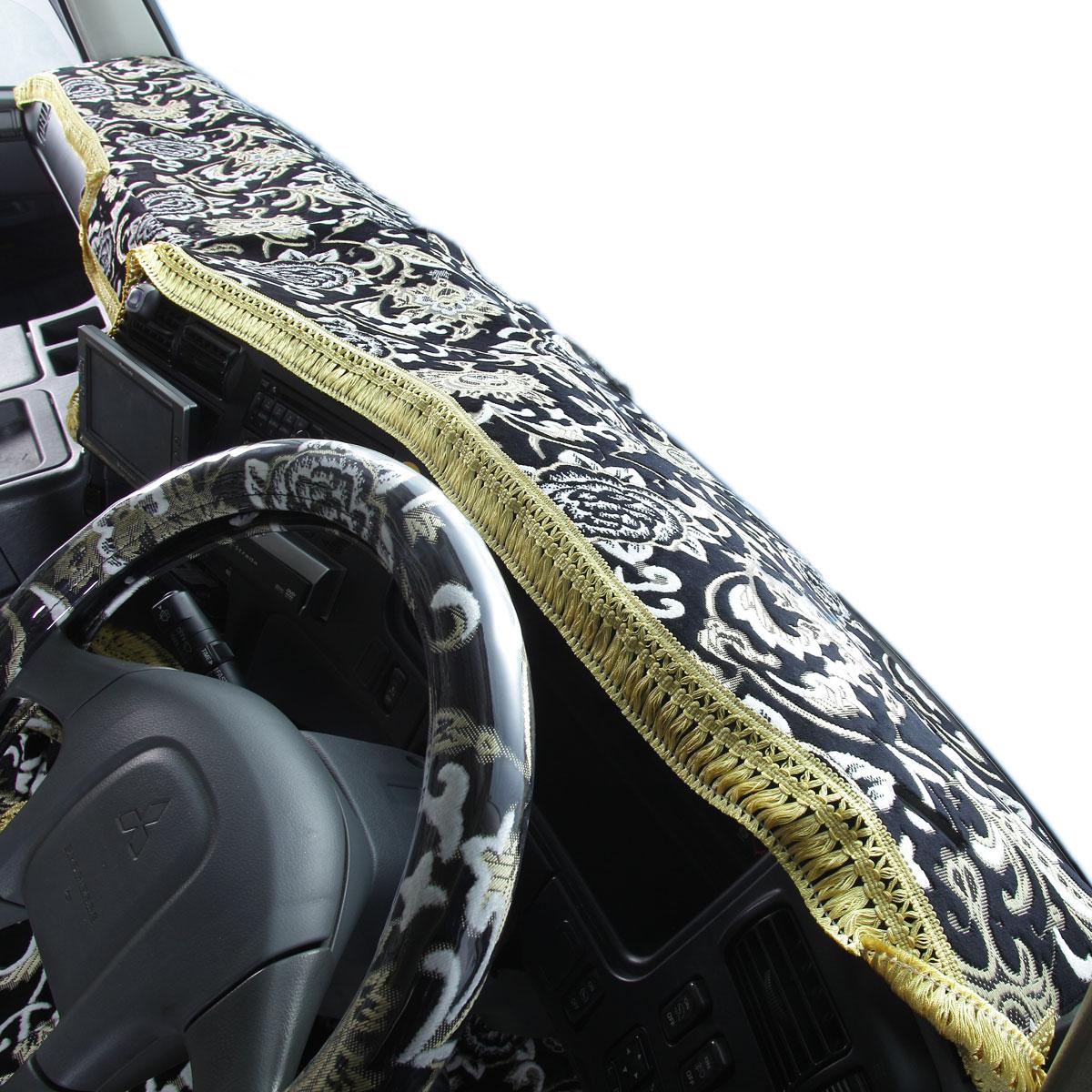 マトメテ割対象500円引!MY-MR025-17 【送料無料!!】金華山 ダッシュマット モンブランローズ 各色 いすゞ 07エルフ標準 H19/01~ (ハイキャブ) 2t標準(77)ELF 中型トラック キャブ 角目 ISUZU